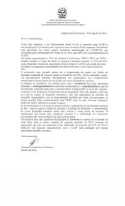 Carta Congentenciamento