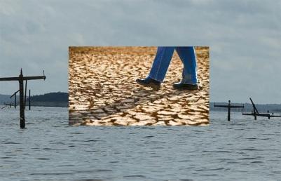 seca inundação