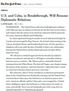 Cuba NYT