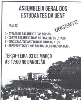 DCE panfleto