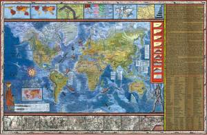 mapa do ferro