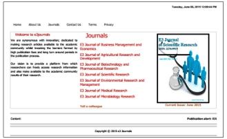 e3 journals