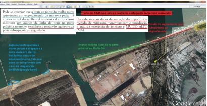 Trecho do RIMA - Explicação da Erosão