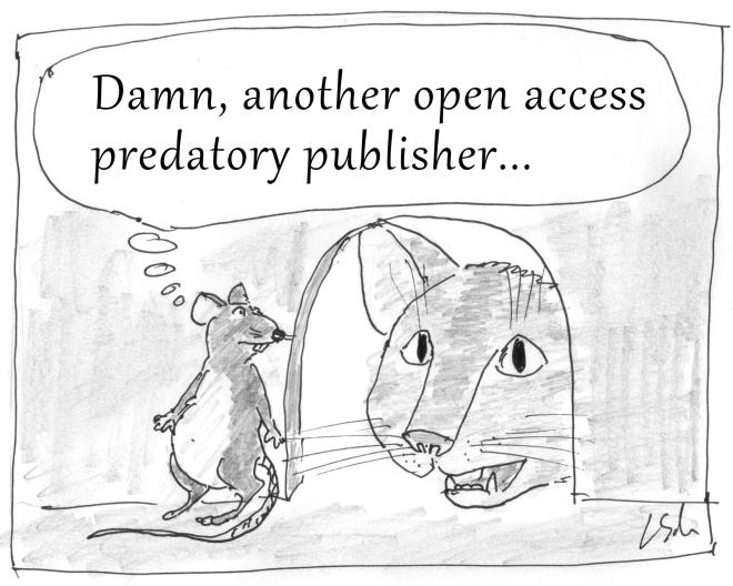 Predatory publisher
