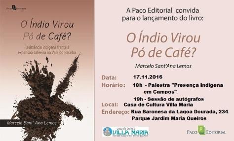 O Índio Virou Pó de Café_REDE SOCIAIS