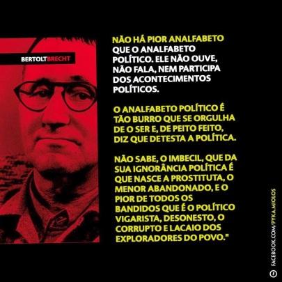 Brecht O Analfabeto Político (1)
