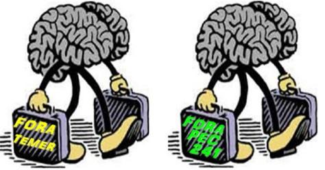 cerebro mala PEC 241 TEMER