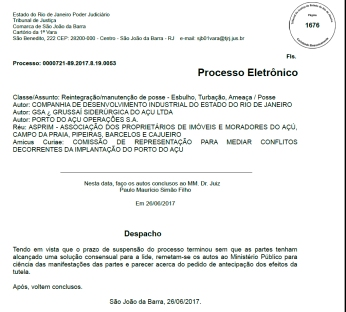 GSA despacho 2606
