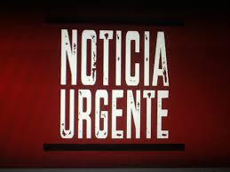 noticia urgente