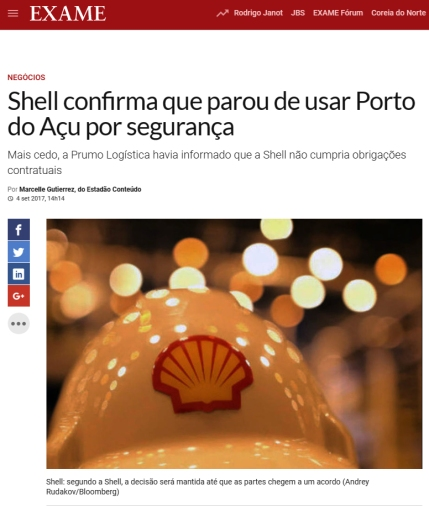 shell porto do açu