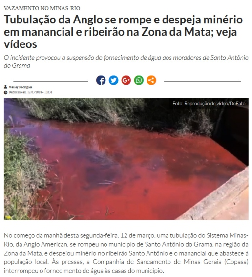 minas rio