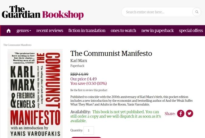 manifesto varoufakis