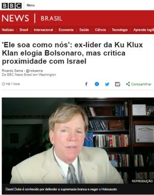 kkk bolsonaro