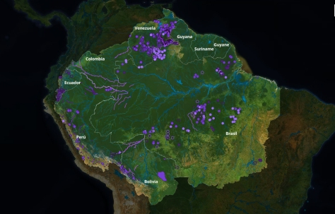 mineração ilegal