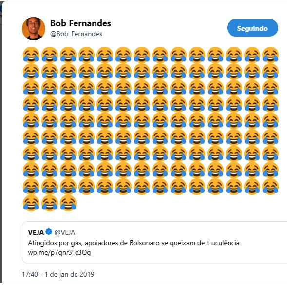 Bob Fernandes gas