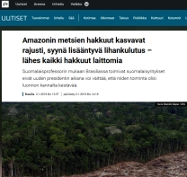 finlandia amazonia