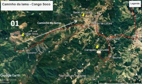 Congo Soco - caminho da lama