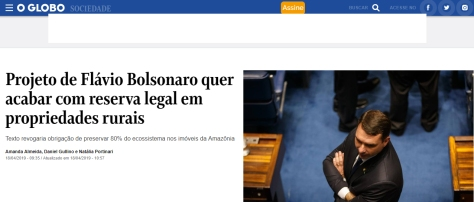 bolsonaro reserva legal