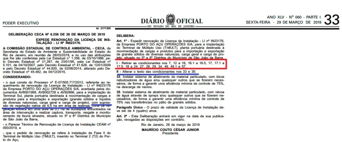 porto do açu licença in 023176