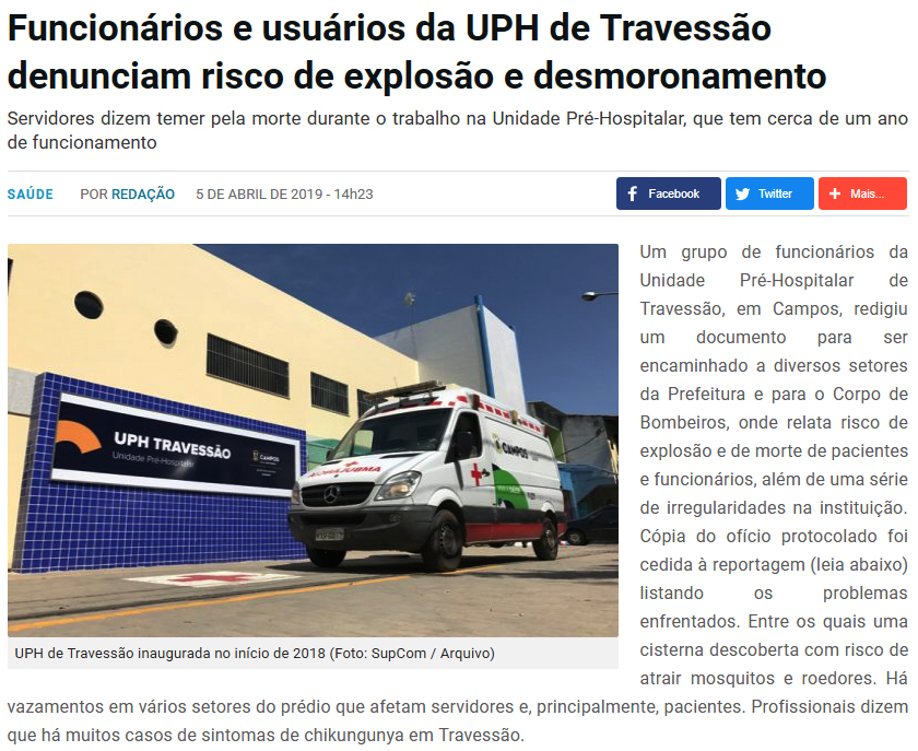 travessão terceira via