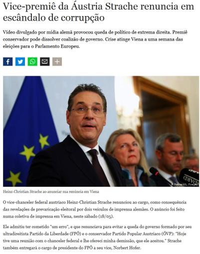 corrupção austria