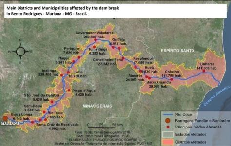 mapa mariana