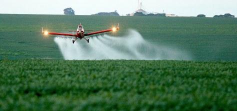 avião agrotoxicos