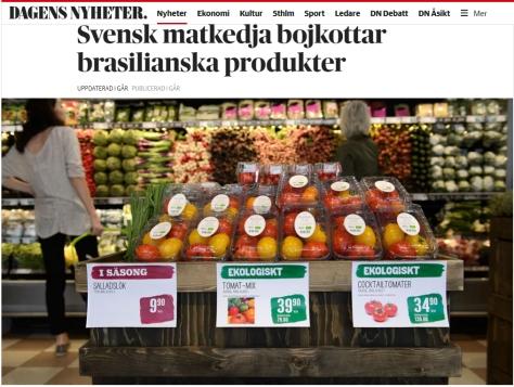 boicote sueco