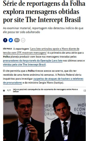 folha the intercept