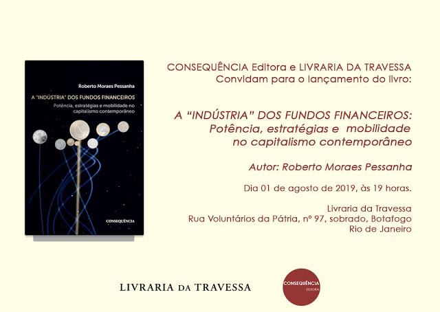 Convite lançamento livro na Livraria Travessa Botadogo -1 Agosto 2019