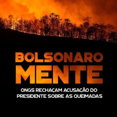 Bolsonaro-mente-ONGs-repúdio