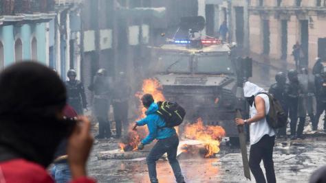revolta equador