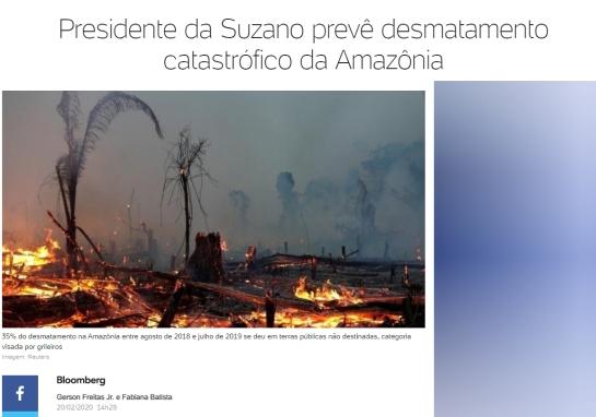Amazônia catastrofe