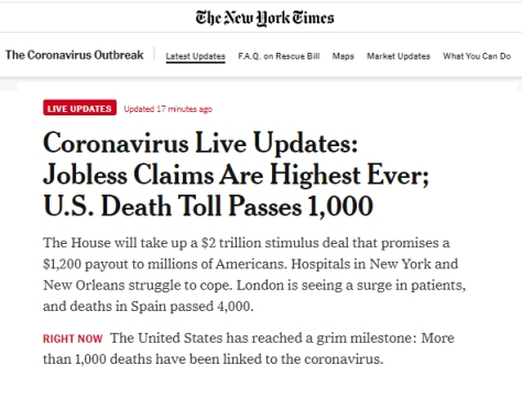 coronavirus nyt