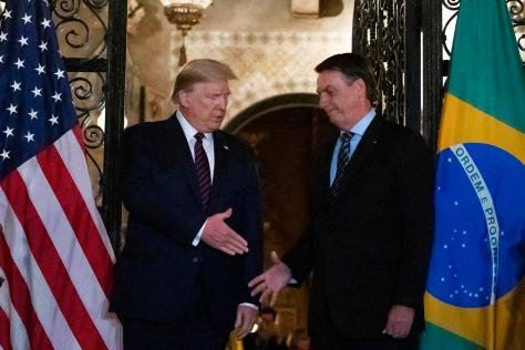 Donald Trump,Jair Bolsonaro,Trump