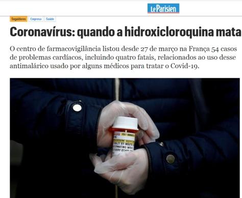 cloroquina mortal