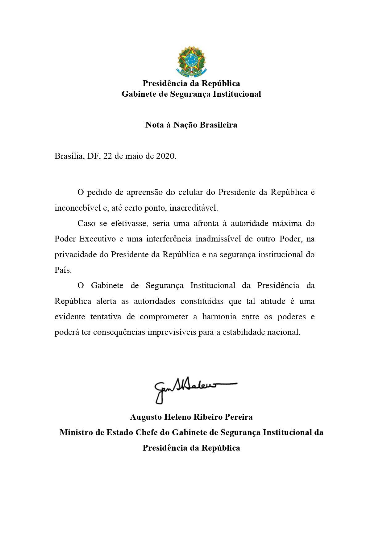 carta general heleno