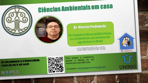 cartaz palestra online Dr. Marcos Pedlowsky