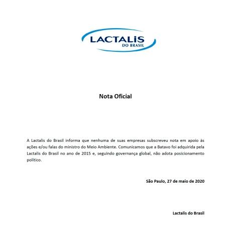 nota lactalis