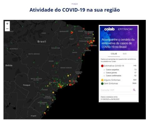 corona mapping