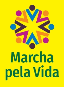 Marcha pela Vida 2020_marca_fundo amarelo