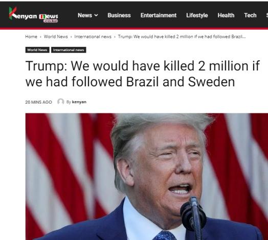 trump brasil