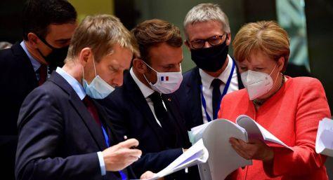 lideres europeus