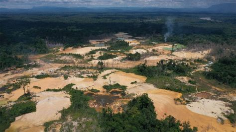 'Like a bomb going off': why Brazil's largest reserve is facing destruction. Gold prospectors are ravaging the Yanomami indigenous reserve. So why does President Bolsonaro want to make them legal?