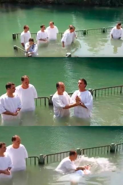 batismo bolsonaro