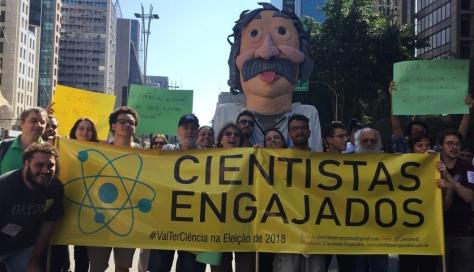 cientistas engajados