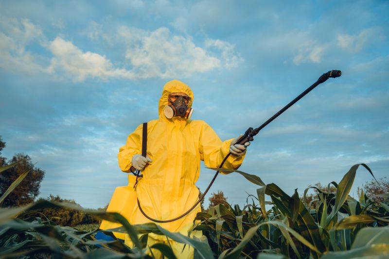 Plantation spraying