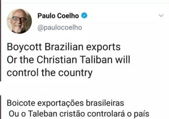 boicote paulo coelho