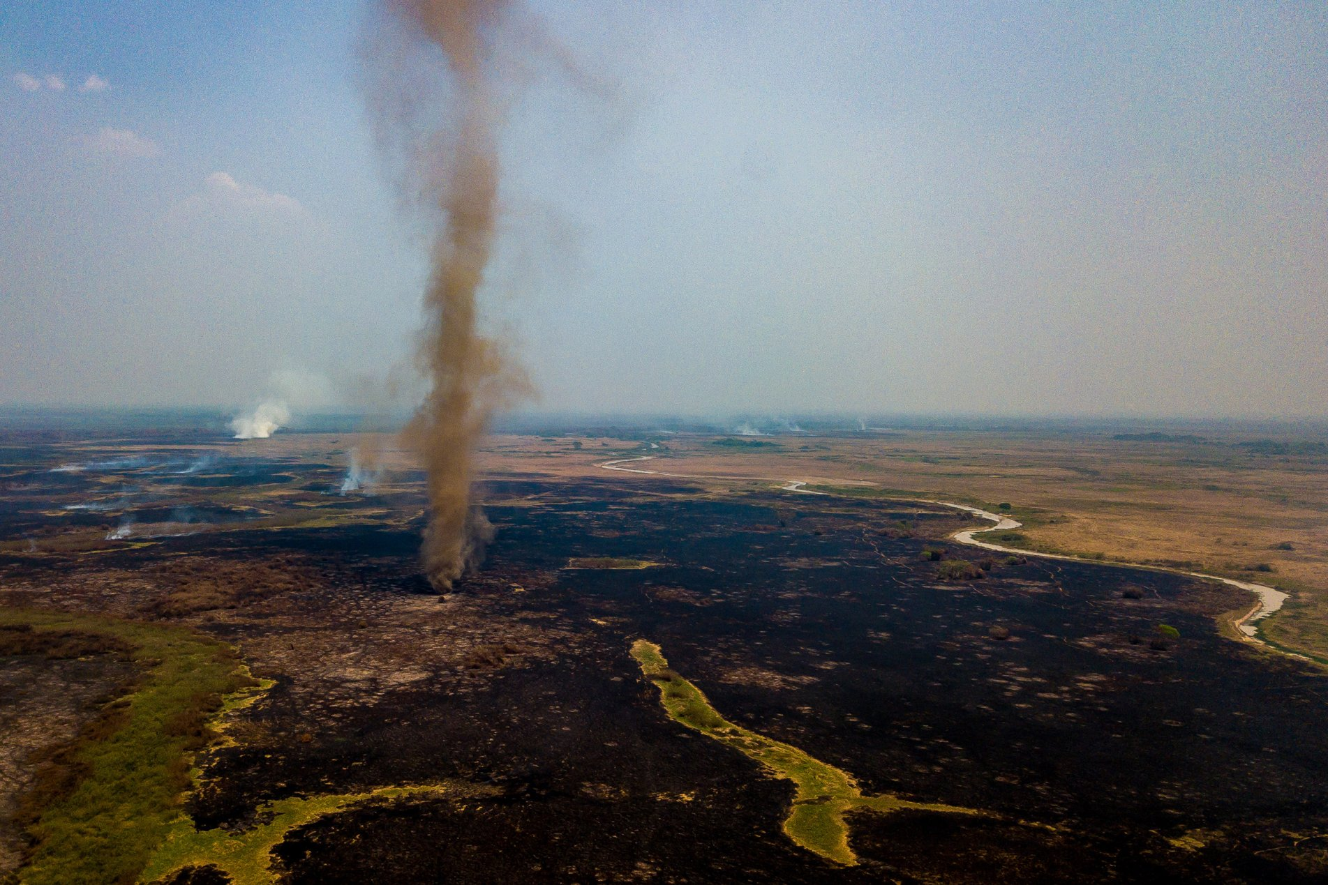 Fires Ravage the Pantanal