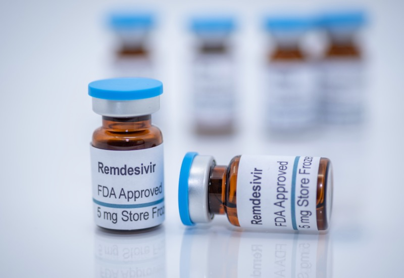 Antiviral drug remdesivir FDA approved for treatment of novel coronavirus covid-19